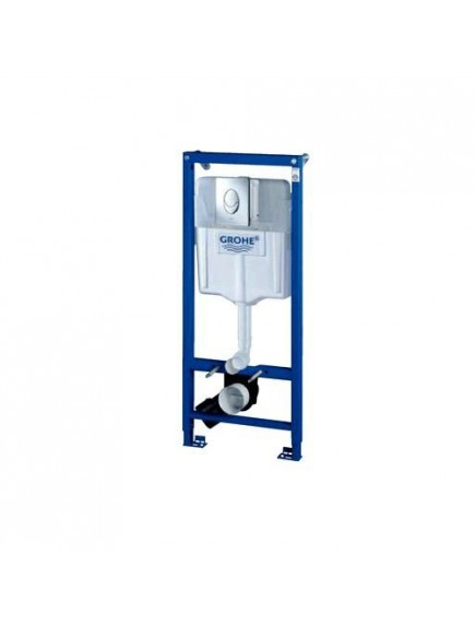Grohe Rapid SL keretes fal elé szerelhető WC tartály, könnyűszerkezetes, fehér nyomólap