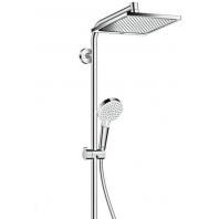 Hansgrohe Crometta E240 1Jet Showerpipe zuhanyszett termosztátos csapteleppel