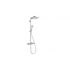 Hansgrohe Crometta E 240 Showerpipe króm termosztátos zuhanycsapteleppel