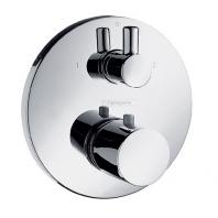 Hansgrohe Ecostat S termosztátos zuhany csaptelep színkészlet falsík alatti szereléshez, elzáró- és váltószeleppel