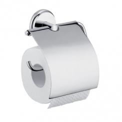 Hansgrohe Logis Classic wc-papírtartó króm, fedőlappal