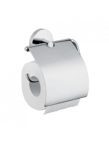 Hansgrohe Logis wc-papír tartó króm. fedőlappal