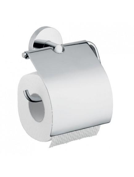 Hansgrohe Logis szálcsiszolt nikkel wc papír tartó