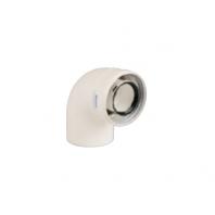Immergas 60/100 mm tisztító könyök idom nyitható vizsgáló nyílással