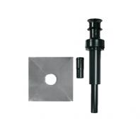 Immergas 80mm végelem függőleges kivezetéshez  fekete