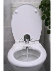 Toilette nett 320T bidé WC-ülőke, antibakteriális, duroplast műanyag kivitel, fehér színű