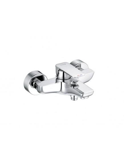 Kludi Pure&Style egykaros kádtöltő- és zuhanycsaptelep, króm