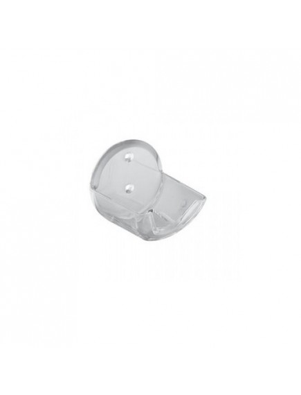 Kludi standard regula fali zuhanytartó 60011 kézizuhanyhoz, átlátszó