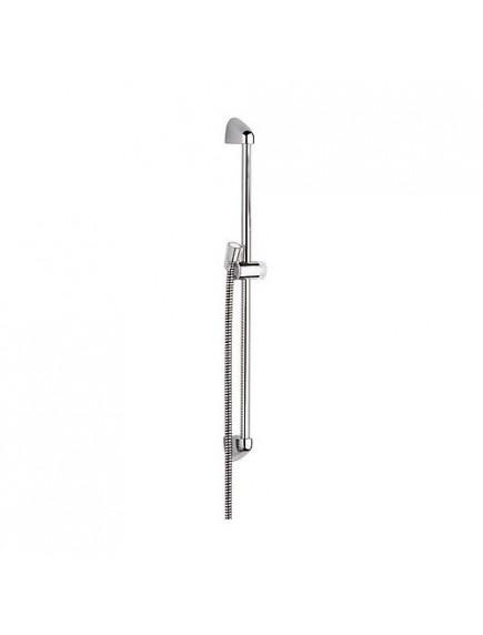 Kludi logo zuhanytartó, krómozott felületű 900 mm-es, gégecsővel KL-6809005-00
