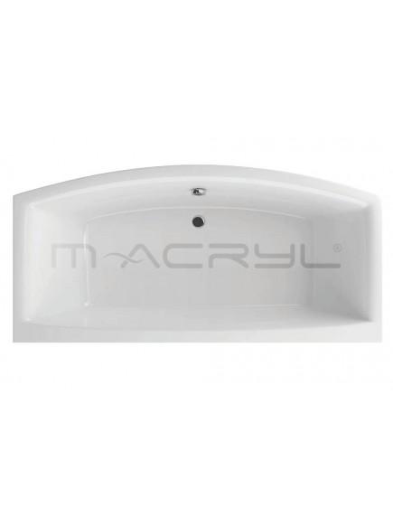 M-Acryl RELAX 2 személyes kád 190x90 előlap nélküli