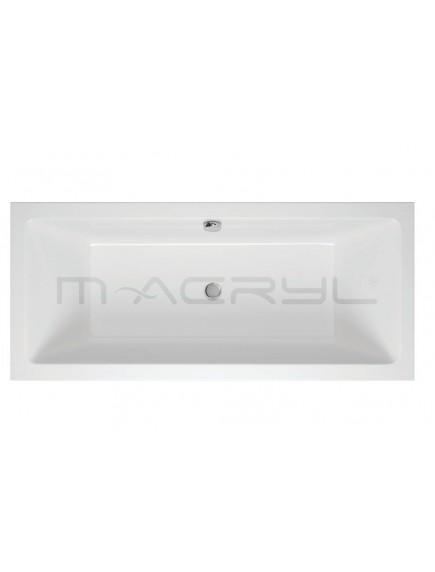 M-Acryl SABINA 2 személyes kád 170x75 előlap nélküli