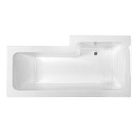M-Acryl LINEA zuhanyteres kád 150x70/85 előlap nélküli