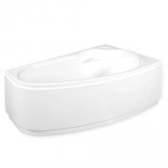 M-ACRYL Liza előlap, 140x90x55,5 cm, JOBBOS, fehér színű