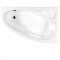 M-ACRYL Liza kád, 150x95x41 cm  - JOBBOS - előlap nélkül,fehér színű