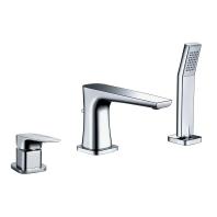 M-Acryl Loft kihúzható zuhanyfejes csaptelep, króm