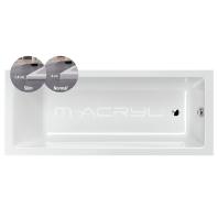 M-Acryl MIA slim kád 170x70 előlap nélküli
