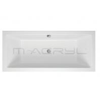 M-Acryl SABINA 2 személyes kád 160x75 előlap nélküli