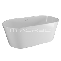 M-Acryl VICTORY szabadon álló kád, fehér 160x80