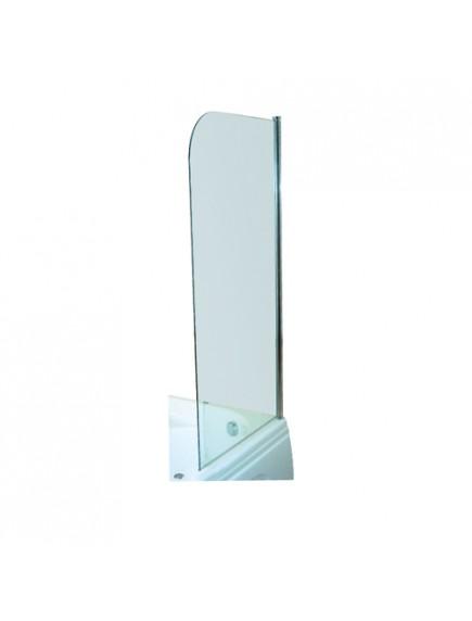 M-Acryl kádparaván, 75x143 cm, edzett üveg