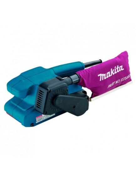 Makita szalagcsiszoló, 650 W, fordulatszám-szabályozás