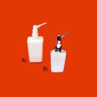 Mc Alpine HC fali szappanadagoló, műanyag, fehér nyomófej