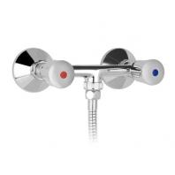 Mofém Eurosztár zuhany csaptelep kézizuhannyal, gégecsővel, fali tartóval