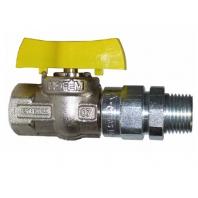 Mofém gömbcsap fix KB menettel, hőhatásra záró szeleppel