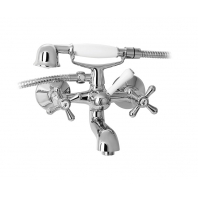 Mofém Treff kádtöltő csaptelep zuhanyvillával, kézizuhannyal, gégecsővel