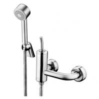Nobili Coleman fali zuhany csaptelep + zuhanygarnitúra, acél