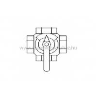 """Vaillant vrm-3-utú négyjáratú keverőcsap, 5/4 """""""