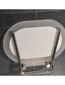 RAVAK Ovo Chrome zuhanyülőkék, rozsdamentes, króm színű