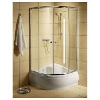 Radaway Classic A900  zuhanykabin 900x900x1700 mm, króm profillal, átlátszó üveggel