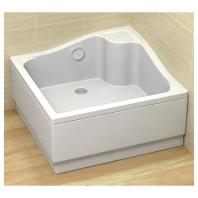 Radaway Korfu C zuhanytálca 900x900x390 mm + acryl előlap