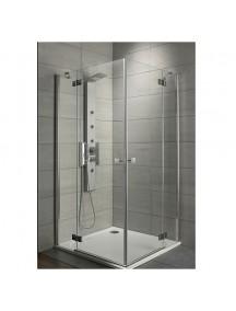 Radaway Almatea KDD 100  zuhanykabin, króm profillal, átlátszó üveggel 32172-01-01N