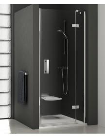 RAVAK SmartLine SMSD2-100 zuhanyajtó, Jobb, króm keret  és transparent üveg