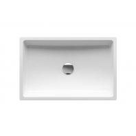 RAVAK FORMY 01 600 D mosdó túlfolyó nélkül, fehér