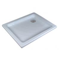 RAVAK kaskada ANETA LA zuhanytálca, 75,5x90,5x9,5 cm, fehér