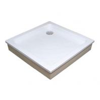 RAVAK kaskada ANGELA 80 EX zuhanytálca, 80x80x18,5 cm, fehér
