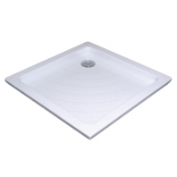 RAVAK kaskada ANGELA 80 LA zuhanytálca, 80x80x9,5 cm, fehér