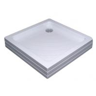 RAVAK kaskada ANGELA 80 PU zuhanytálca, 80x80x18,5 cm, fehér
