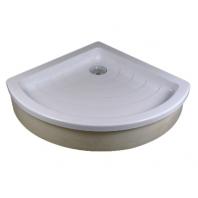 RAVAK kaskada RONDA 80 EX zuhanytálca, 80,5x80,5x18,5 cm, fehér