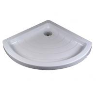 RAVAK kaskada RONDA 80 LA zuhanytálca, 80,5x80,5x10 cm, fehér