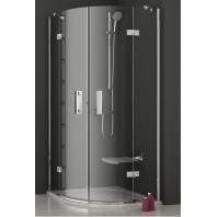SmartLine  SMSKK4-90 zuhanykabin, króm kerettel és transparent üveggel