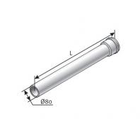 Saunier Duval egyenes hosszabbítócső, l = 500mm