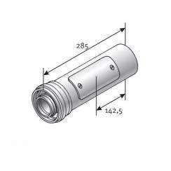 Tricox ellenörző egyenes idom kondenzációs