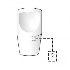 Schell Compact HF vizeldevezérlés, elemes működtetéssel, 9 V