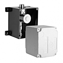 Schell Compact II falba építhető vizelde-öblítőszelep, beépítőszett mechanikus és elektronikus működtetéshez