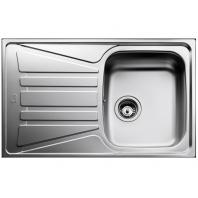 TEKA beépíthető mosogatótálca egymedencés + csepegtető, (Basico 79 1B.1D.) rozsdamentes acél