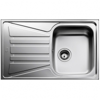TEKA beépíthető mosogatótálca egymedencés + csepegtető, (Basico 79 1C.1E.) rozsdamentes acél