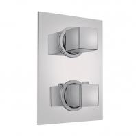 TEKA Spa süllyesztett termosztátos zuhany csaptelep, 2 utas 78.022.02.00